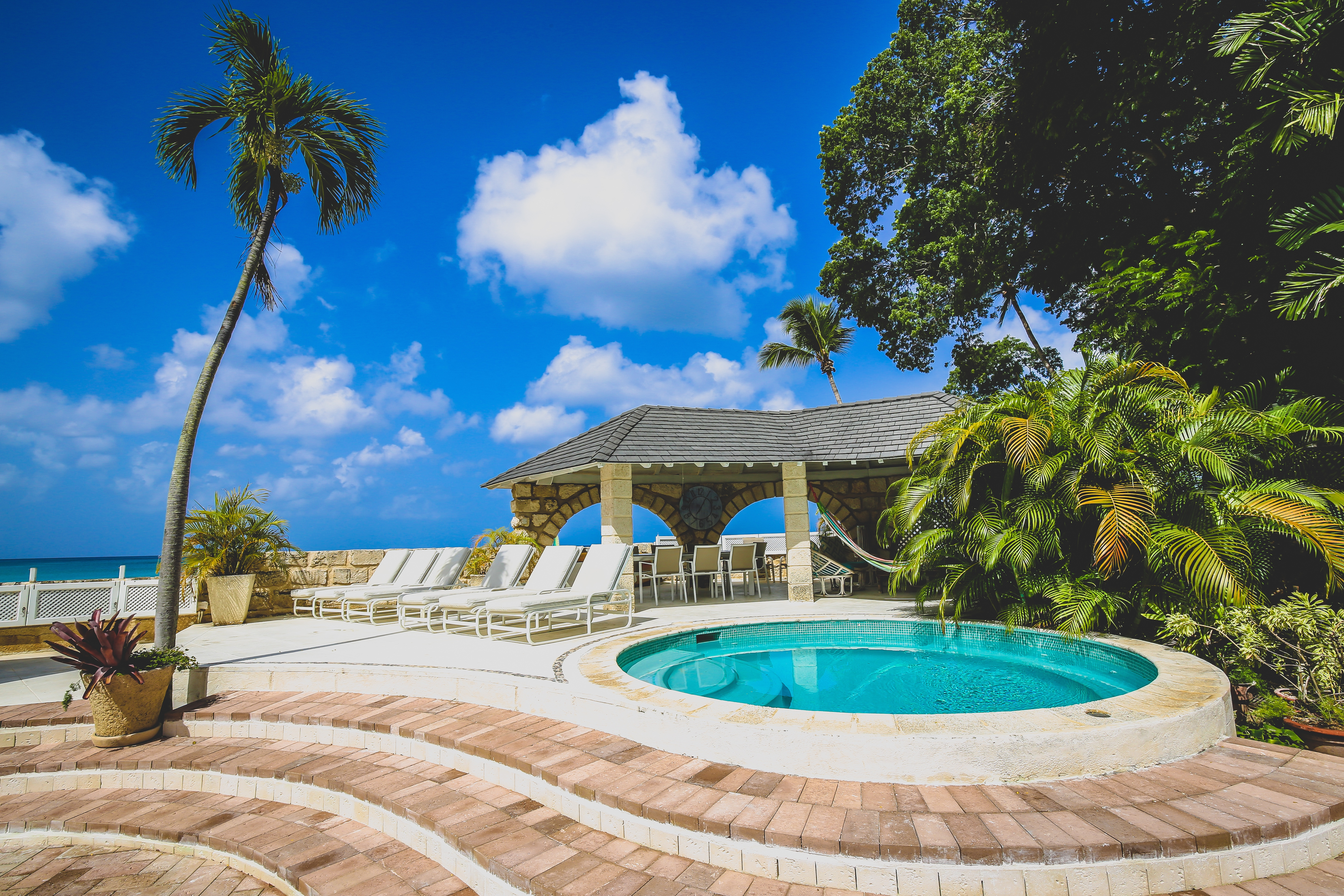 Pool and Heated Plunge Pool